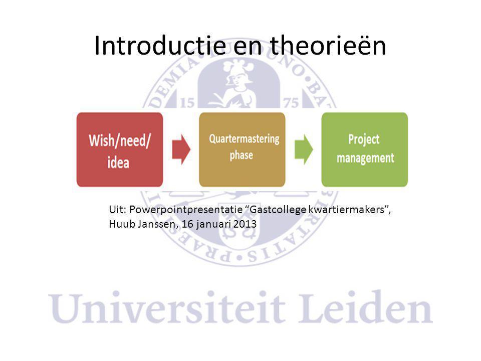 Introductie en theorieën