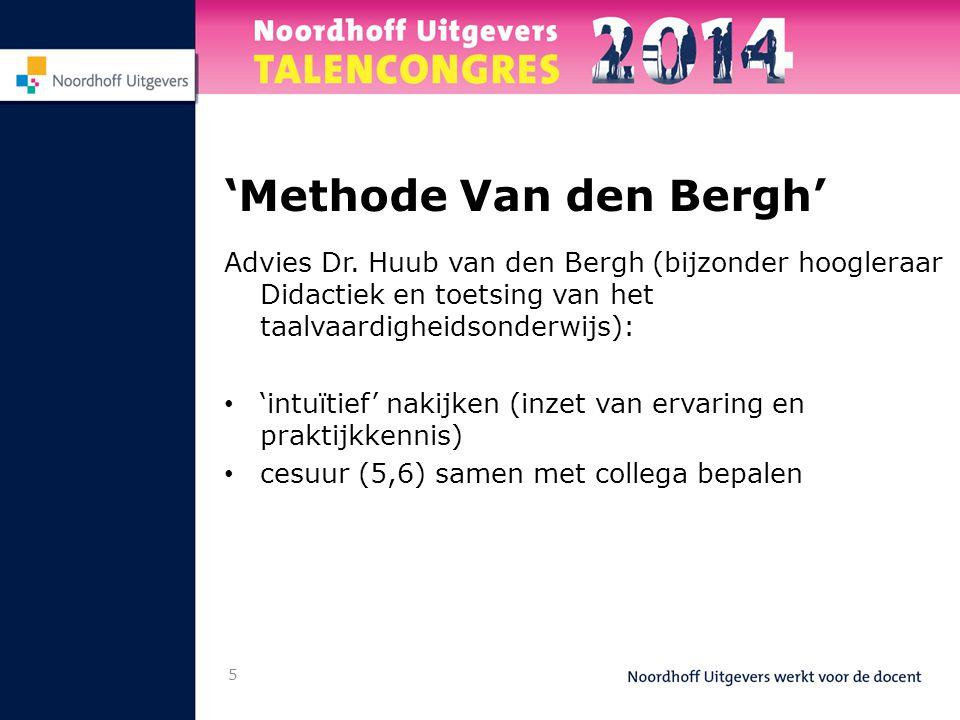 'Methode Van den Bergh'