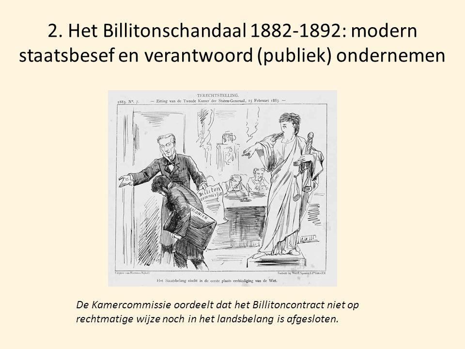 2. Het Billitonschandaal 1882-1892: modern staatsbesef en verantwoord (publiek) ondernemen