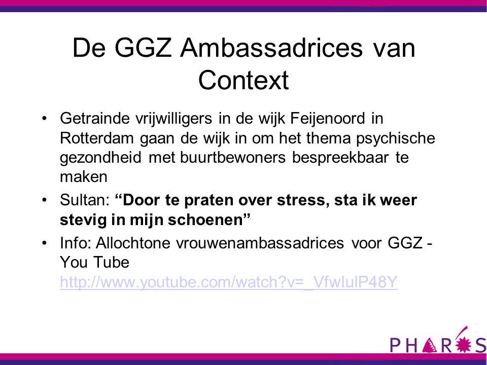 De GGZ Ambassadrices van Context