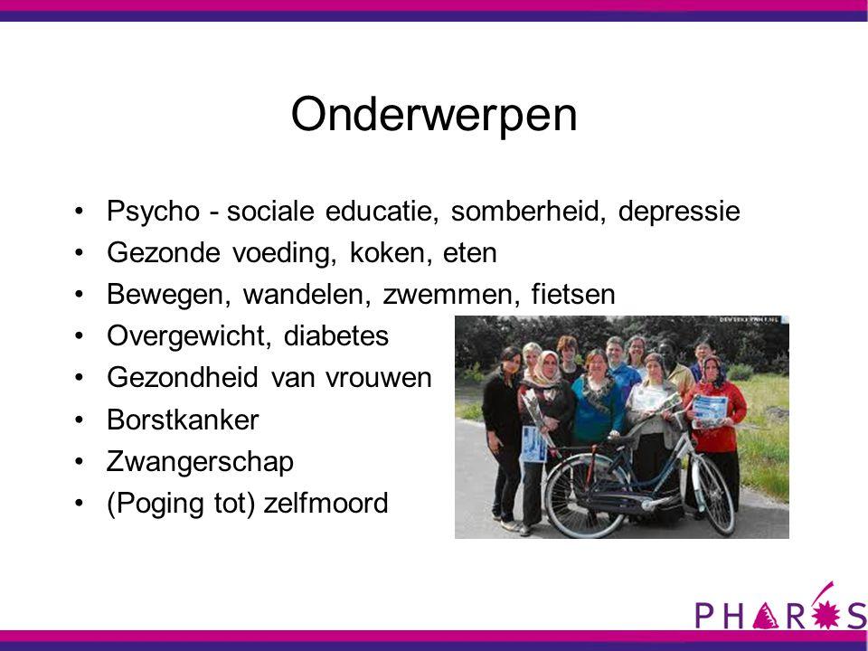 Onderwerpen Psycho - sociale educatie, somberheid, depressie