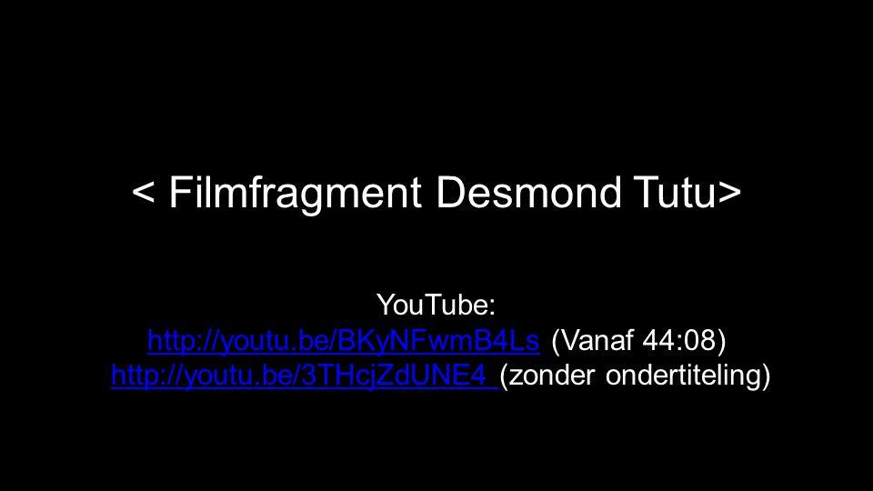 < Filmfragment Desmond Tutu>