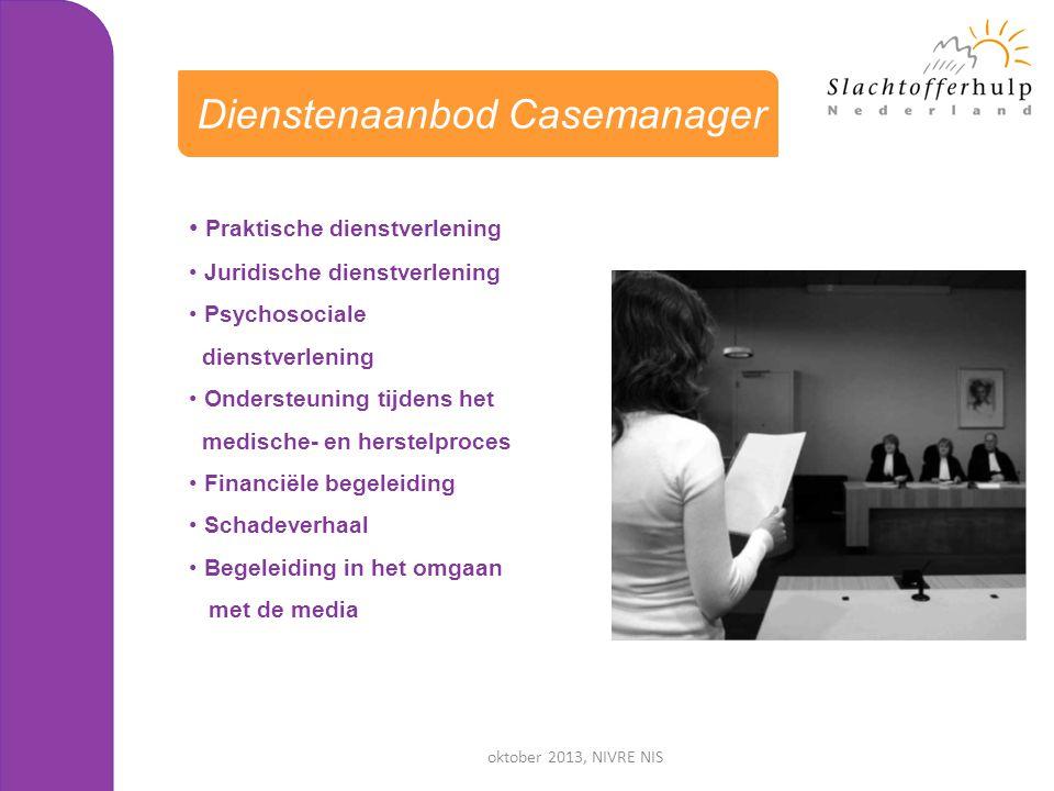 Dienstenaanbod Casemanager