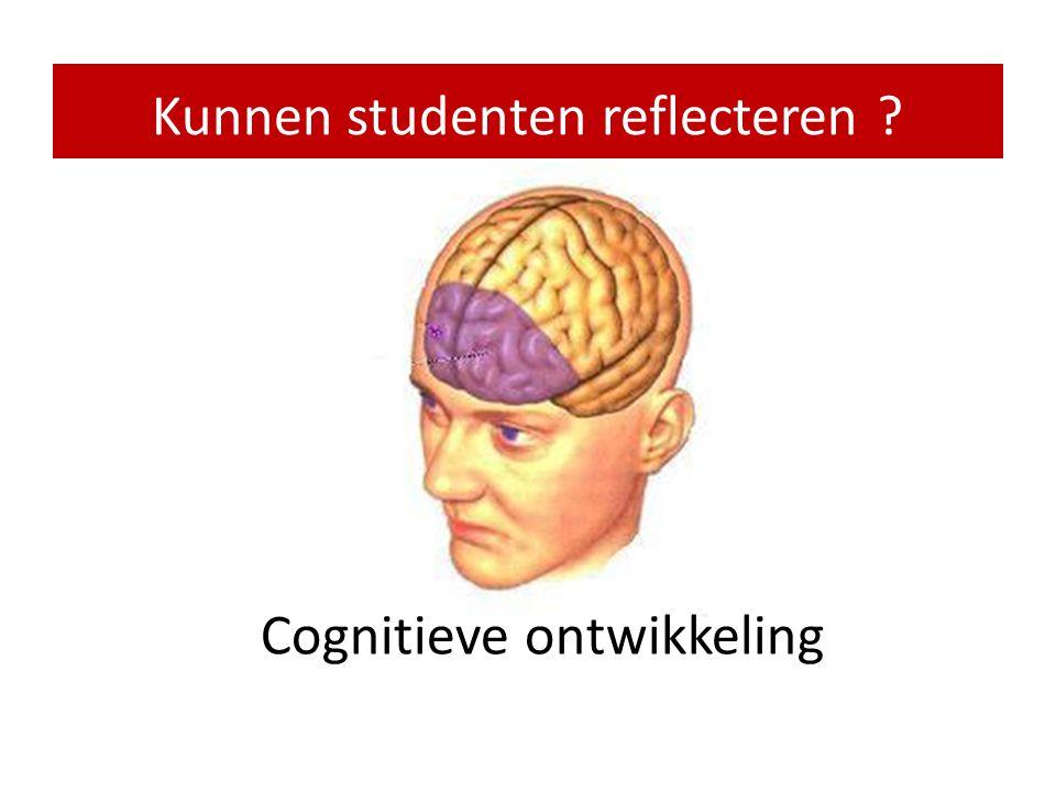 Kunnen studenten reflecteren