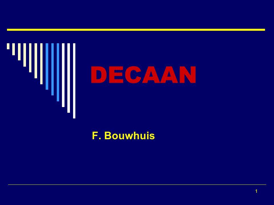 DECAAN F. Bouwhuis