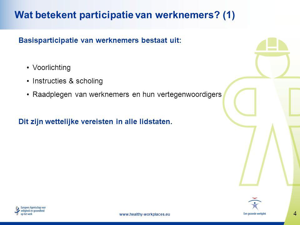 Wat betekent participatie van werknemers (1)