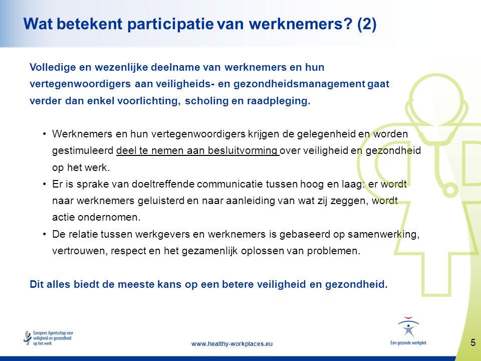 Wat betekent participatie van werknemers (2)