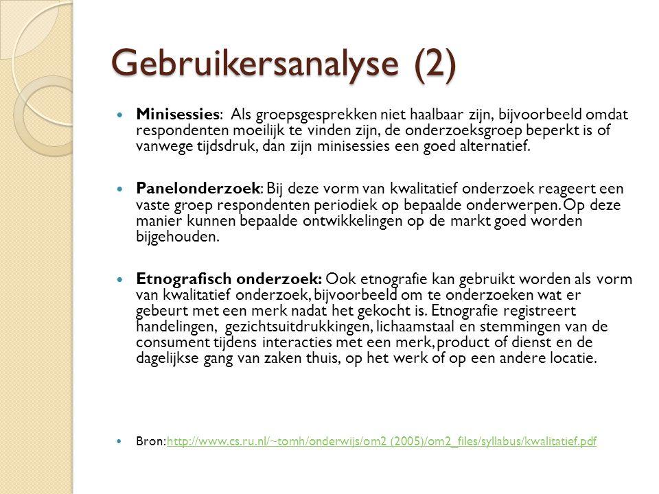 Gebruikersanalyse (2)