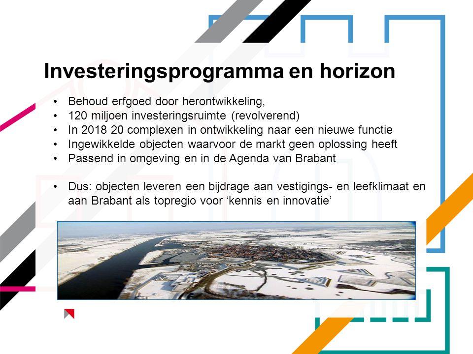 Investeringsprogramma en horizon