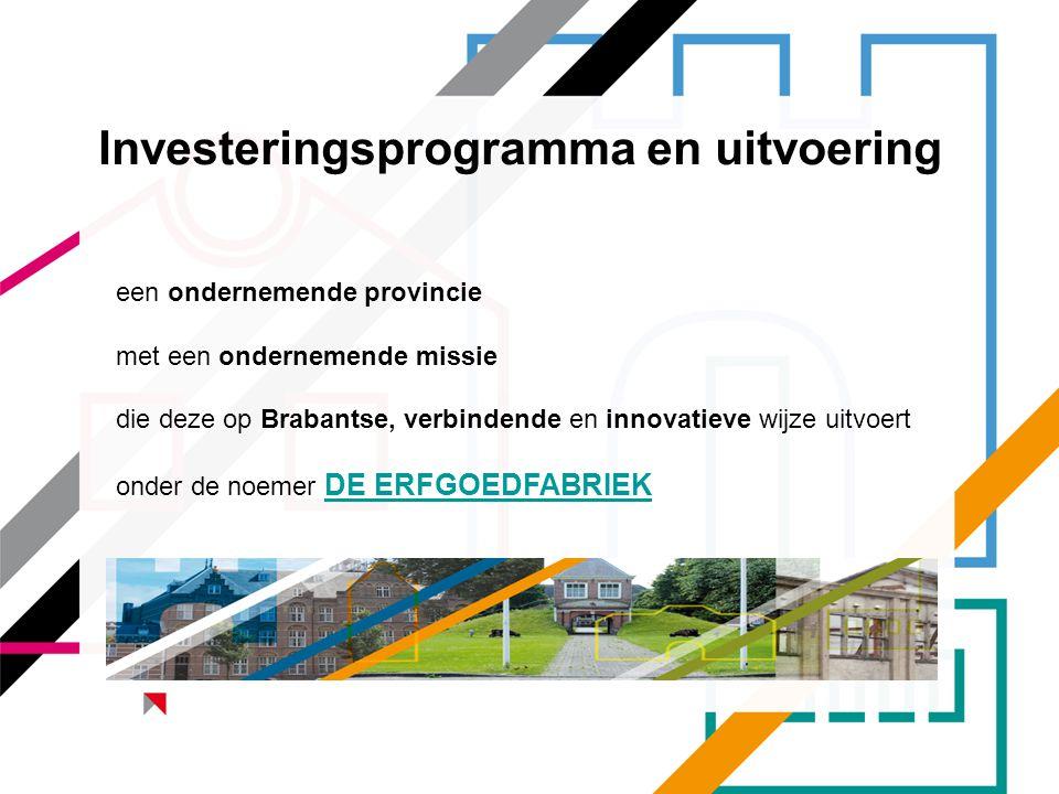 Investeringsprogramma en uitvoering