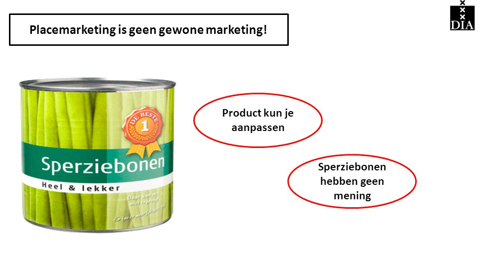 Placemarketing is geen gewone marketing!