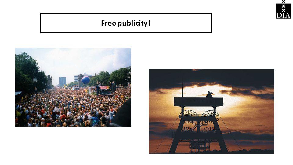Free publicity!