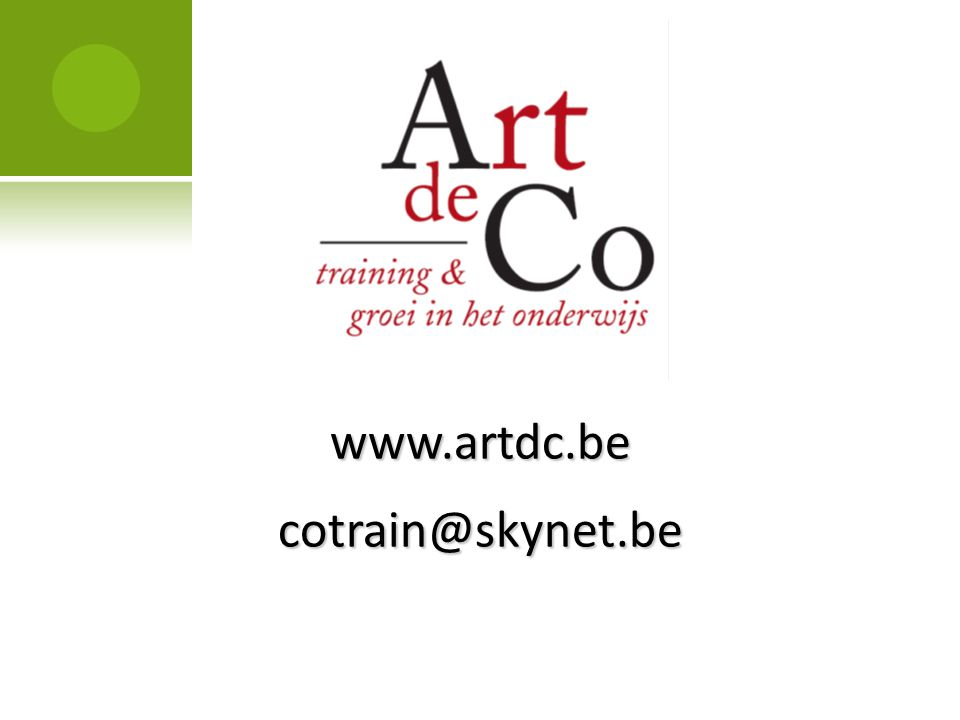 www.artdc.be cotrain@skynet.be