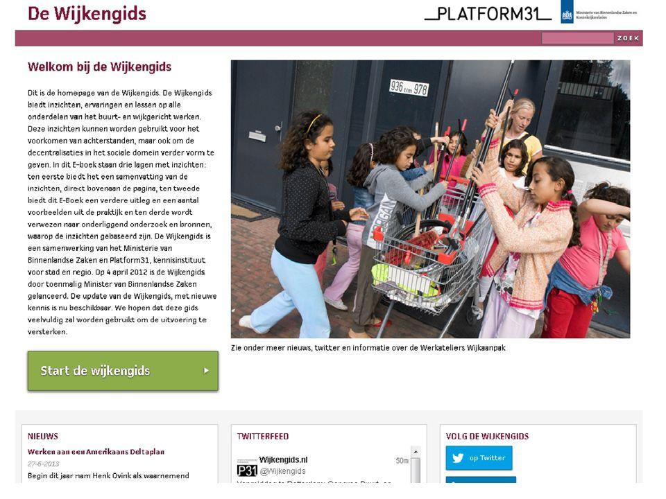 Congres 'Buurt- en wijkgericht werken in een veranderende context'