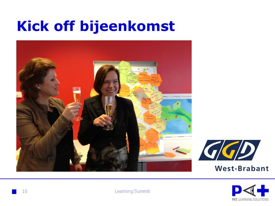 Kick off bijeenkomst Learning Summit