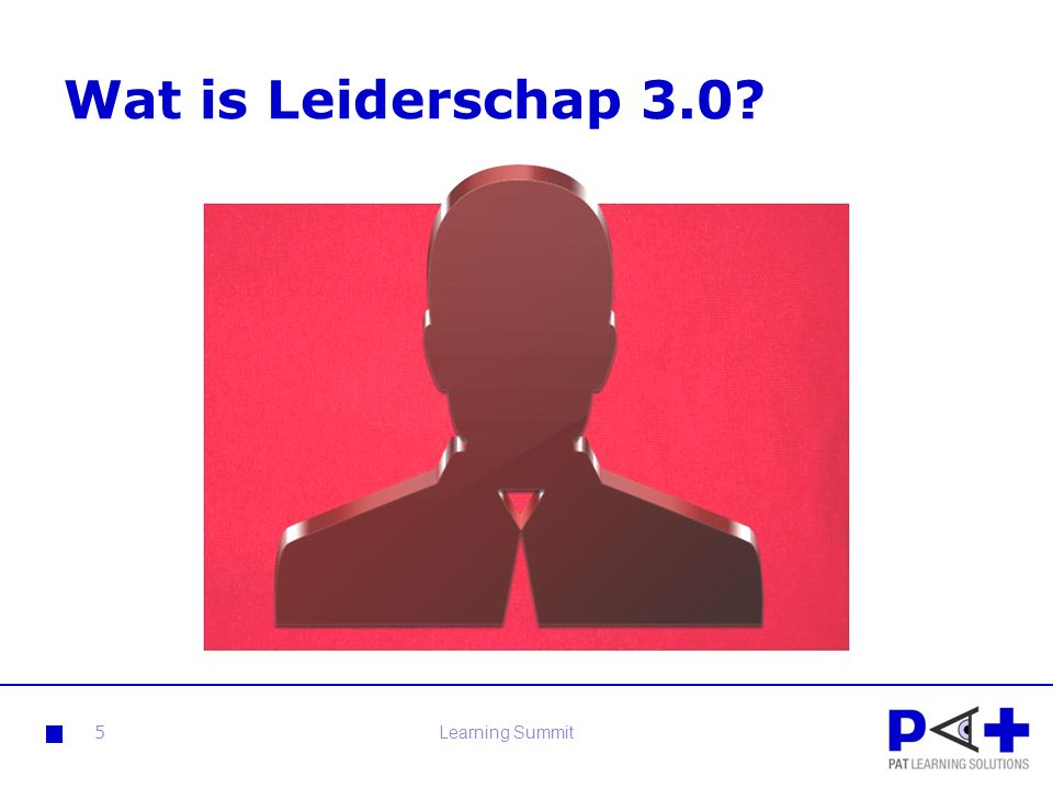 Wat is Leiderschap 3.0 Learning Summit
