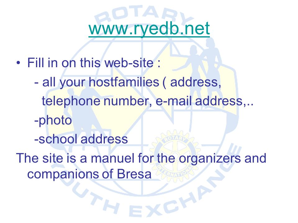 www.ryedb.net Fill in on this web-site :