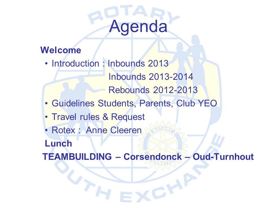 Agenda Introduction : Inbounds 2013 Inbounds 2013-2014