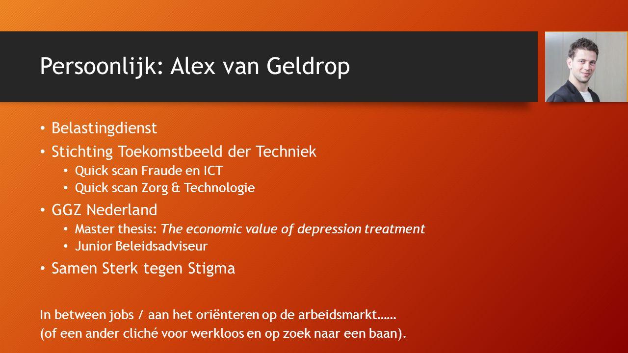 Persoonlijk: Alex van Geldrop