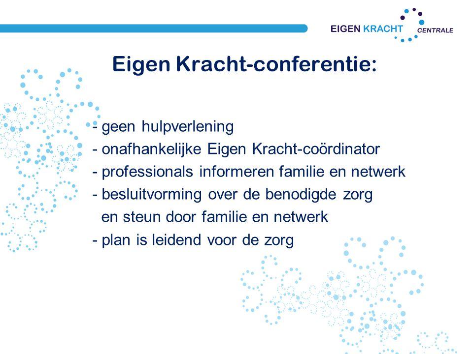 Eigen Kracht-conferentie: