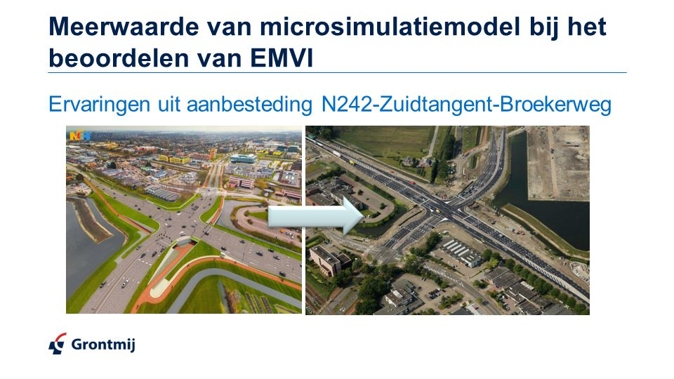 Meerwaarde van microsimulatiemodel bij het beoordelen van EMVI
