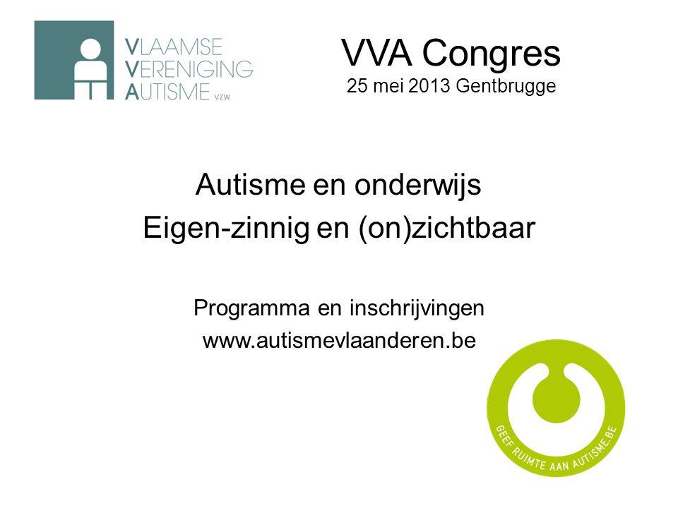 VVA Congres 25 mei 2013 Gentbrugge