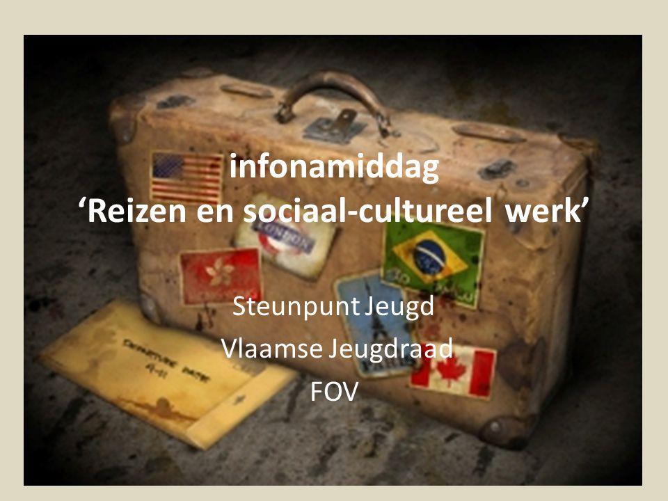 infonamiddag 'Reizen en sociaal-cultureel werk'