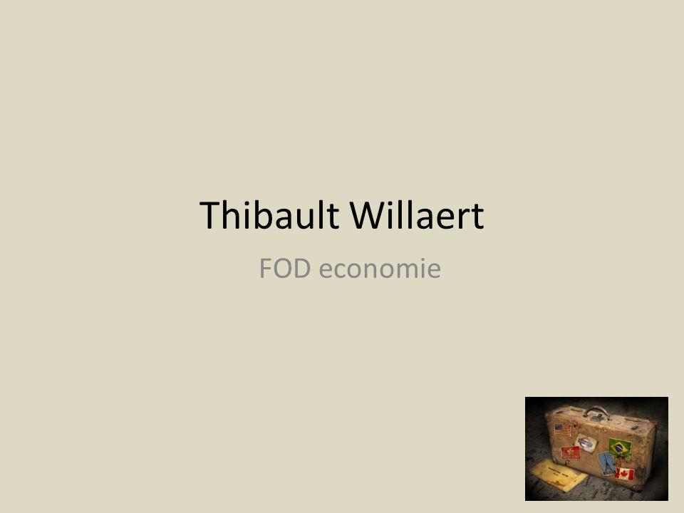 Thibault Willaert FOD economie