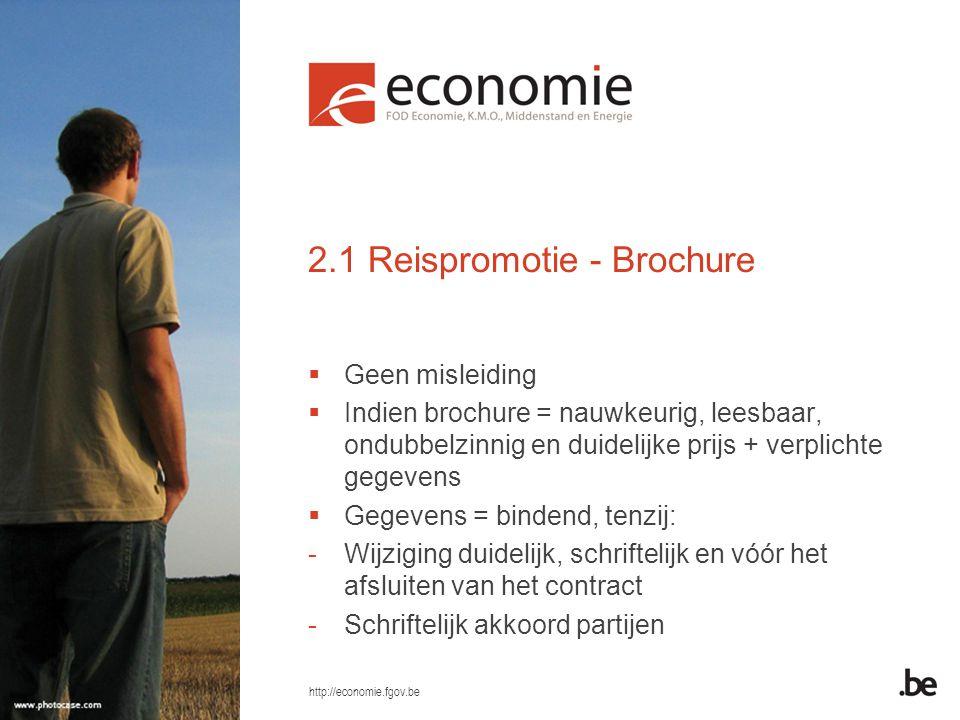 2.1 Reispromotie - Brochure