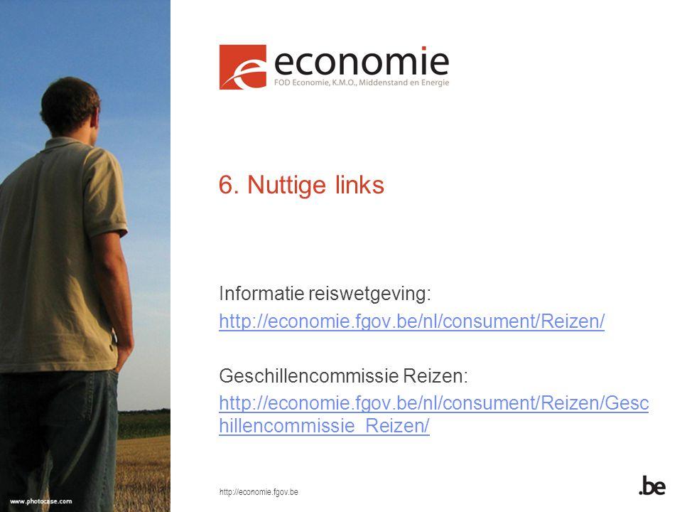 6. Nuttige links Informatie reiswetgeving: