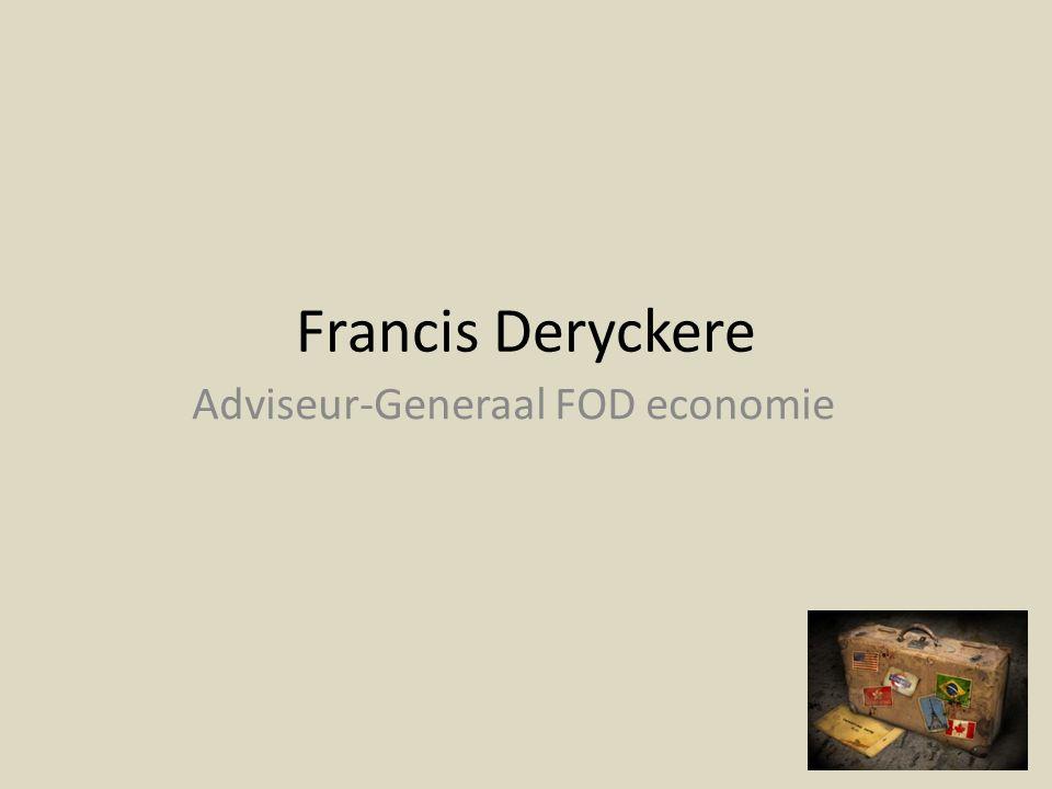 Adviseur-Generaal FOD economie