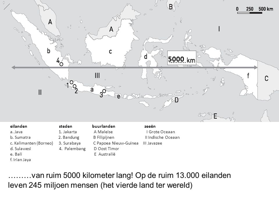 5000 eilanden steden buurlanden zeeën