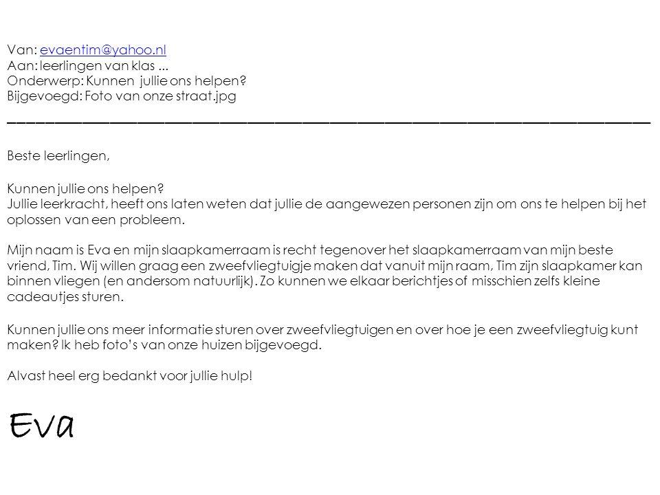 Van: evaentim@yahoo.nl