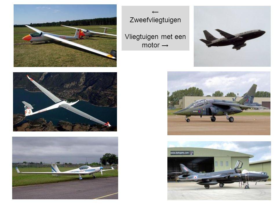Vliegtuigen met een motor →