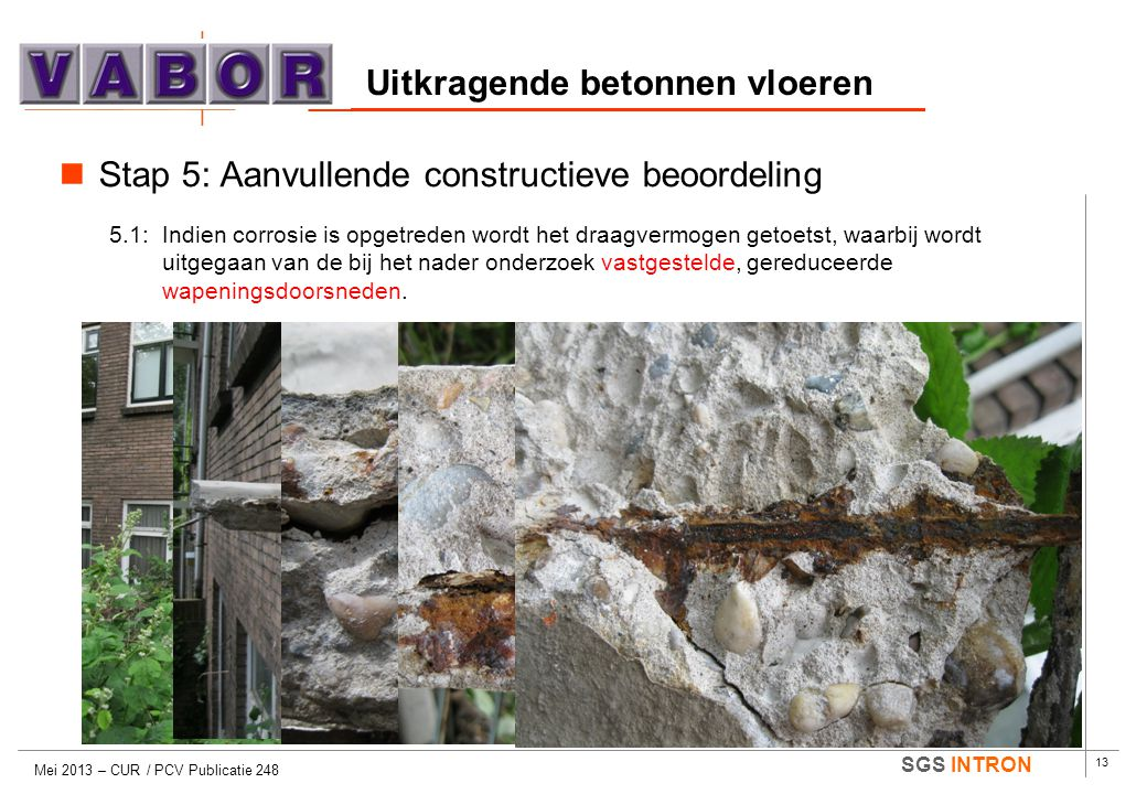 Uitkragende betonnen vloeren