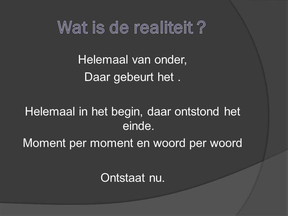 Wat is de realiteit