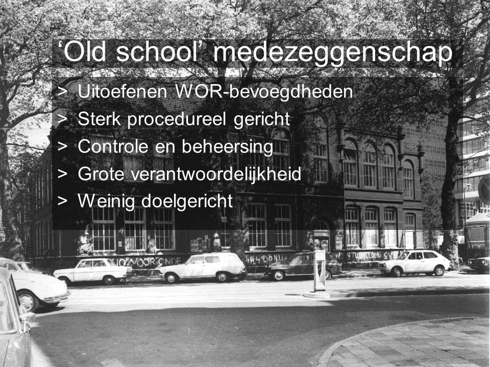 'Old school' medezeggenschap