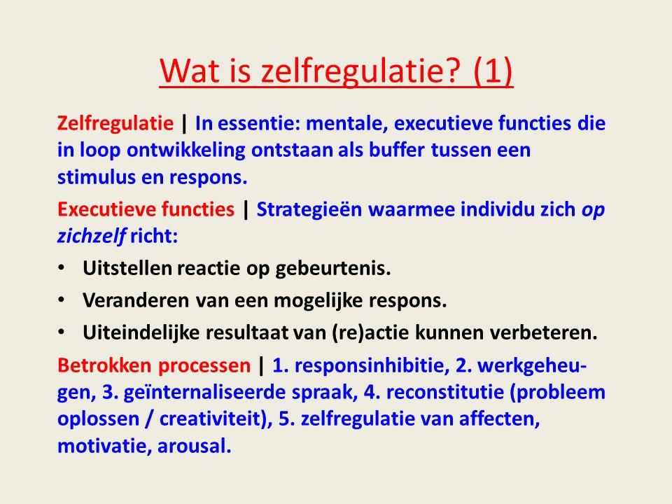 Wat is zelfregulatie (1)