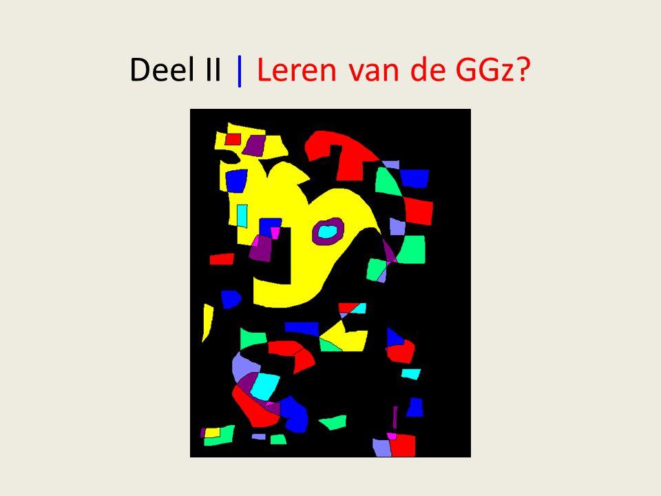 Deel II | Leren van de GGz