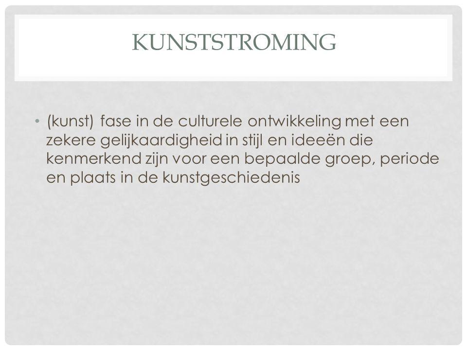 Kunststroming