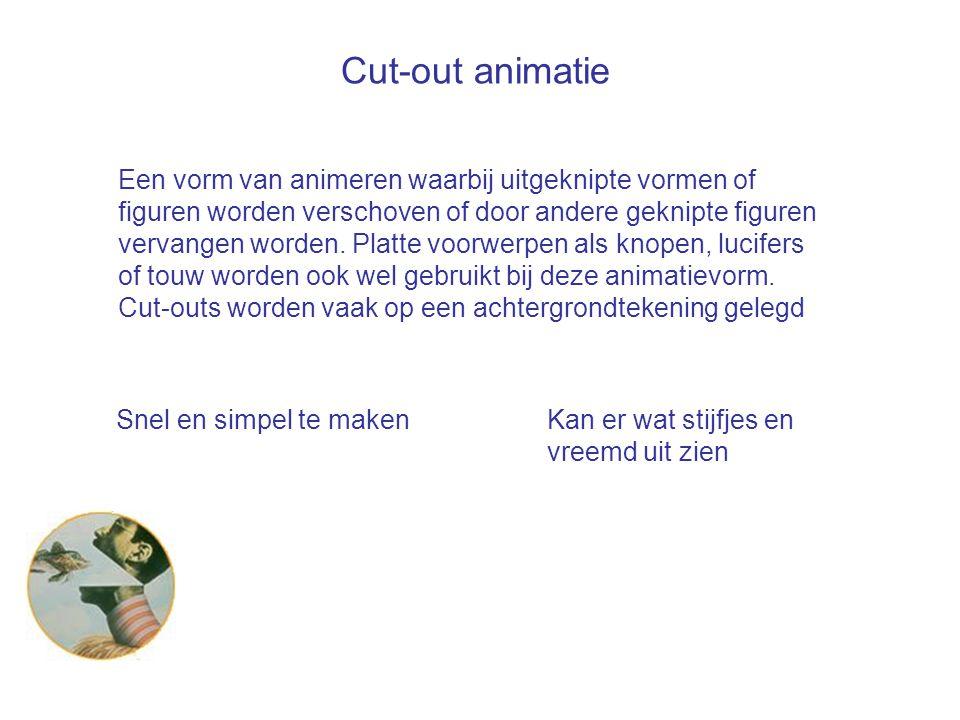 Cut-out animatie