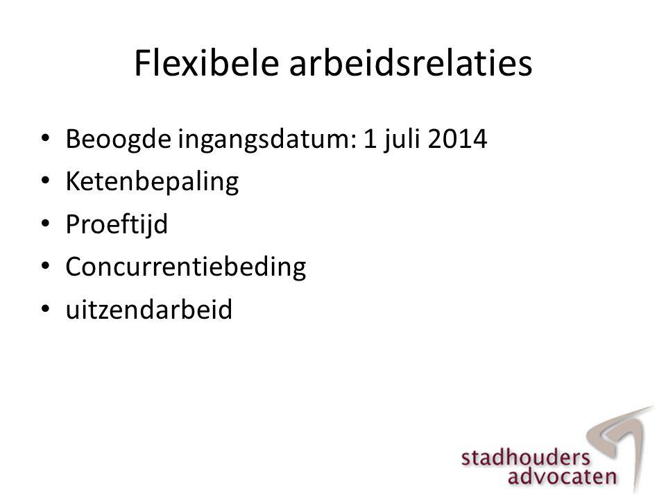 Flexibele arbeidsrelaties