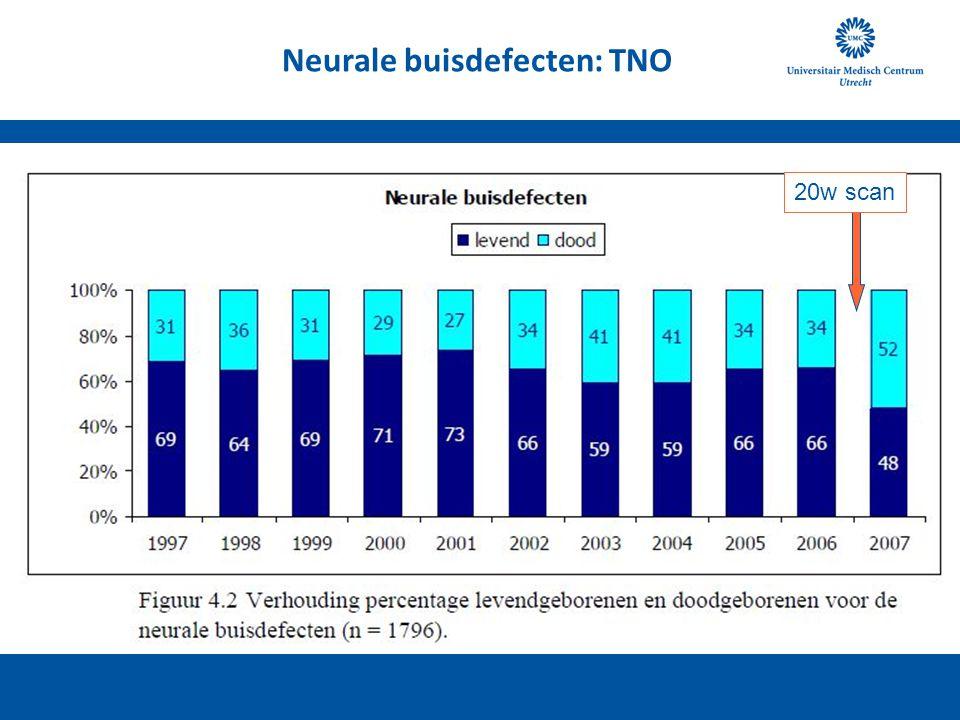 Neurale buisdefecten: TNO