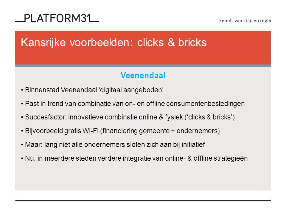 Kansrijke voorbeelden: clicks & bricks