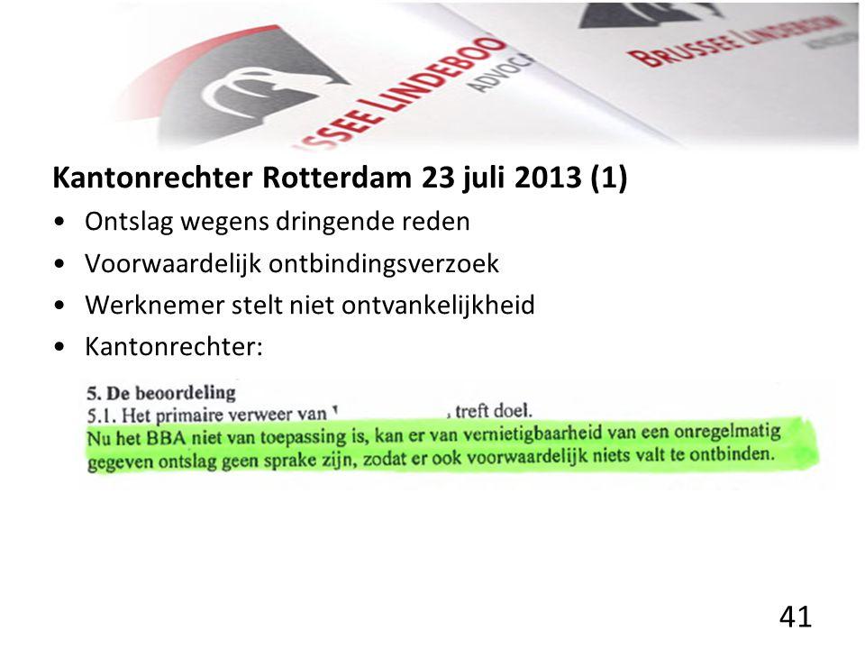 Kantonrechter Rotterdam 23 juli 2013 (1)