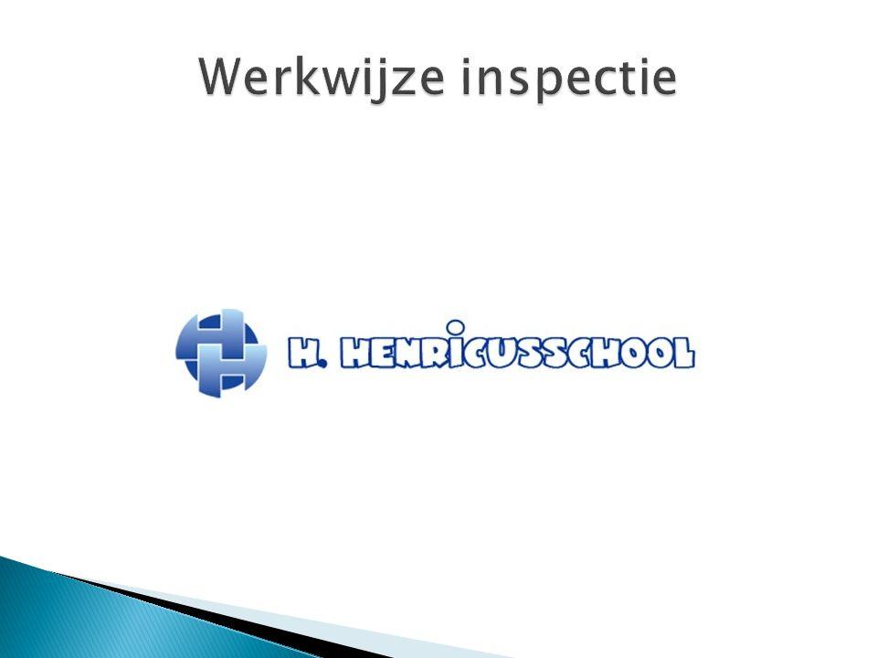 Werkwijze inspectie