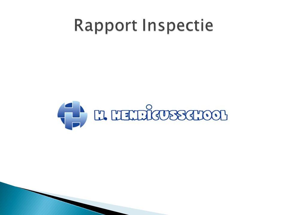 Rapport Inspectie
