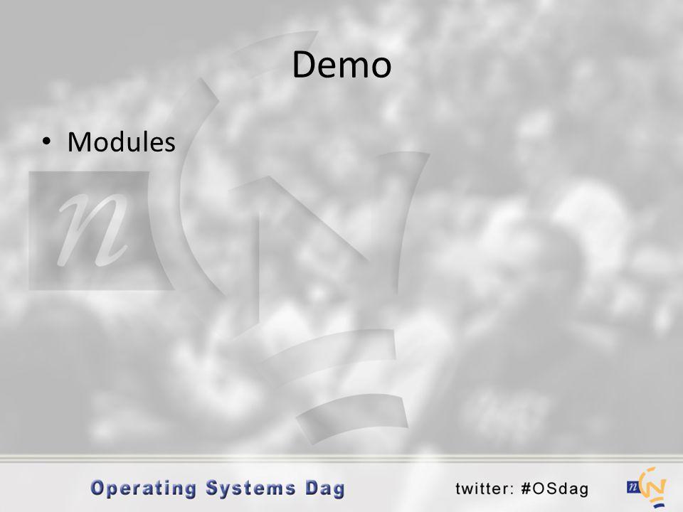 Demo Modules