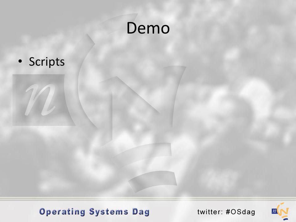 Demo Scripts