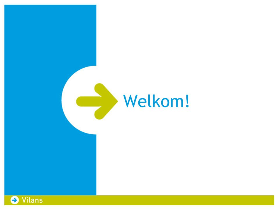 Welkom! Welkom op deze werkconferentie!